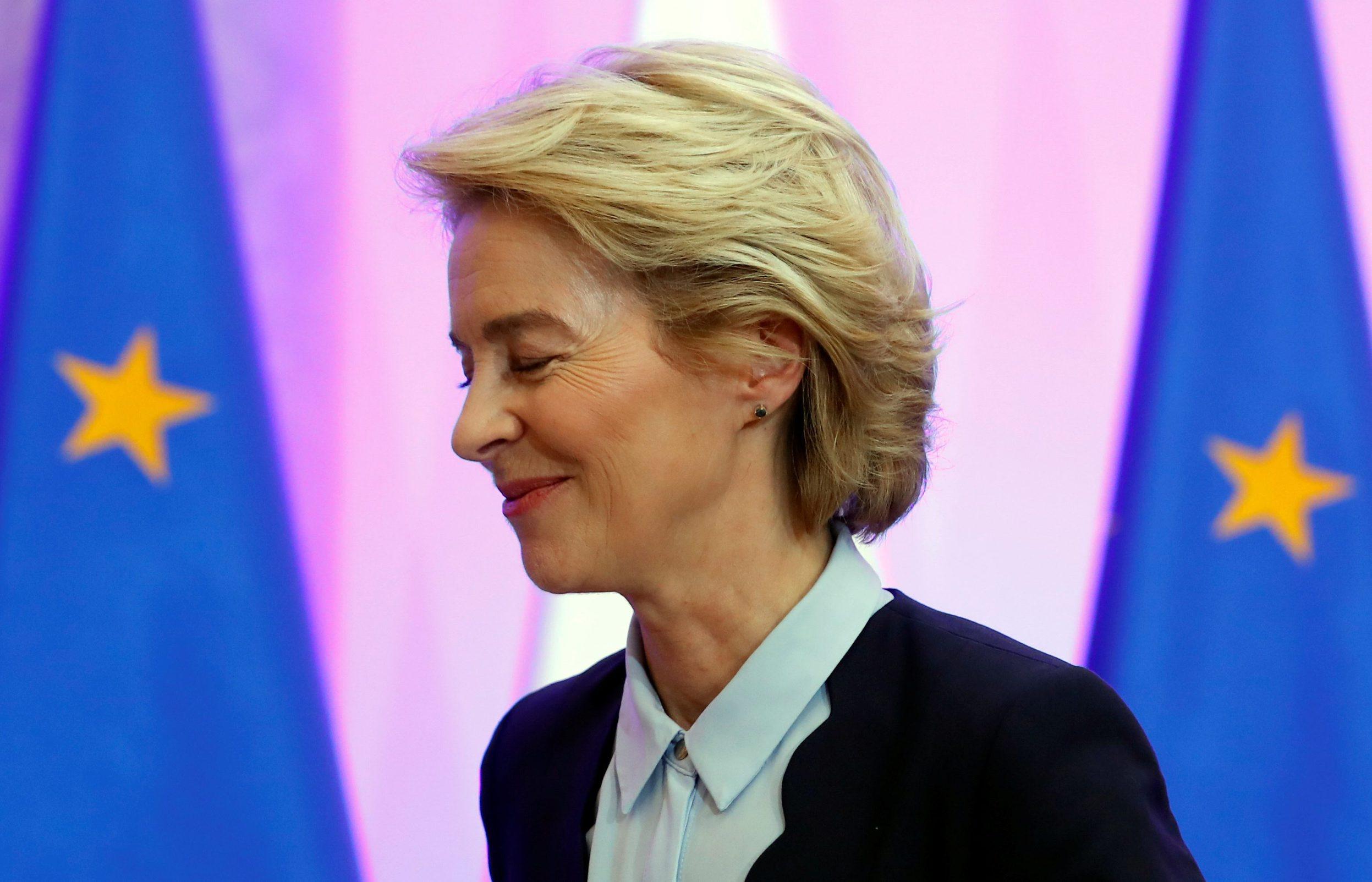 Novoizabrana predsjednica Europske komisije Ursula von der Leyen