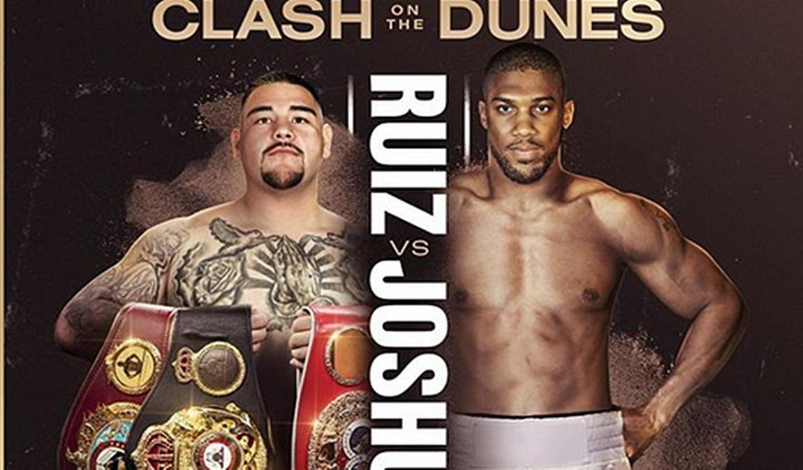 Službeni plakat Ruiz vs. Joshua 2