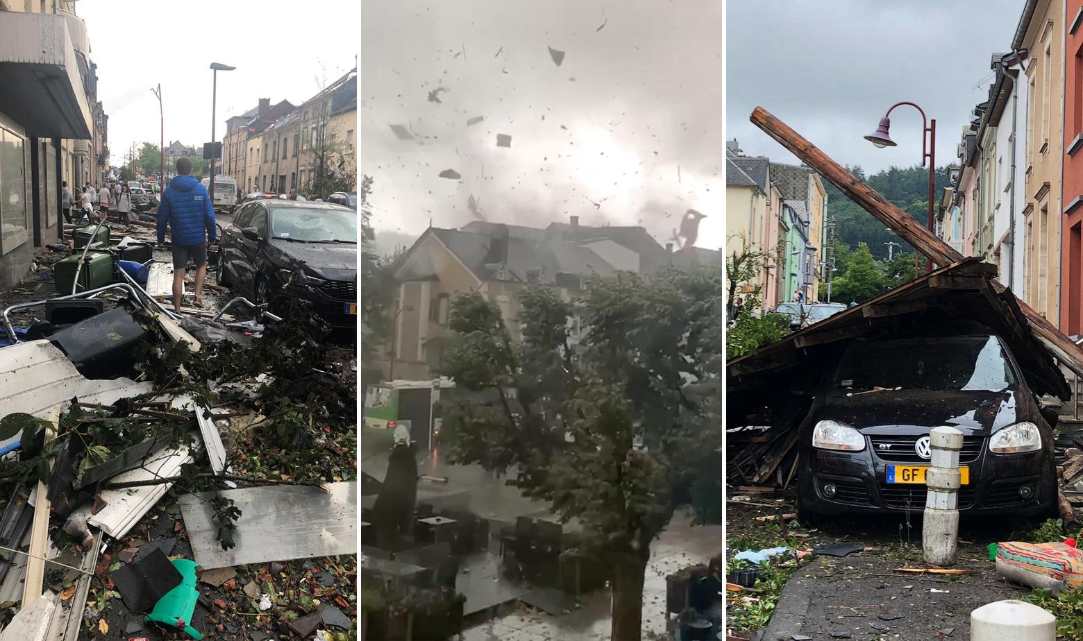 Luksemburg tornado