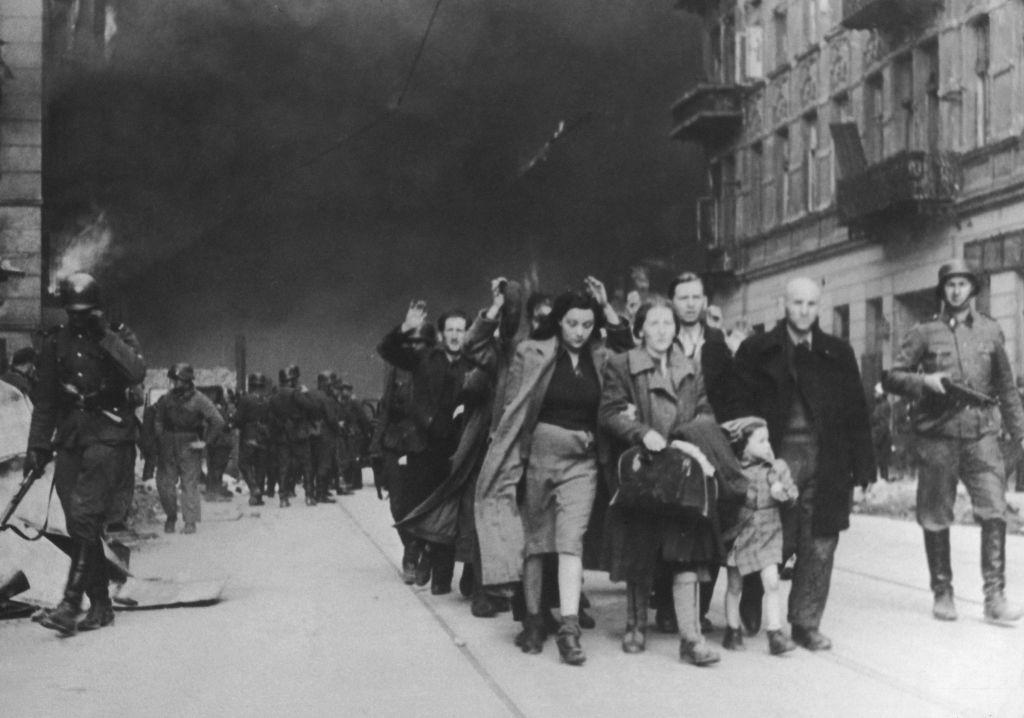 Njemački zarobljenici u Varšavi