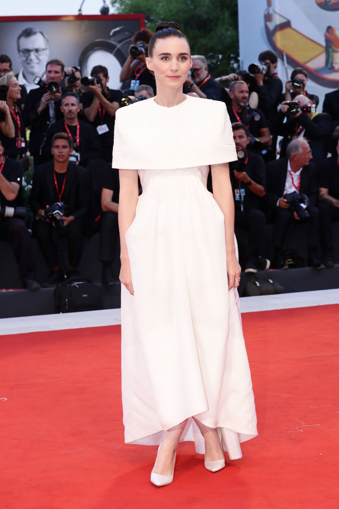 VENICE, ITALY - AUGUST 31: Rooney Mara walks the red carpet ahead of the