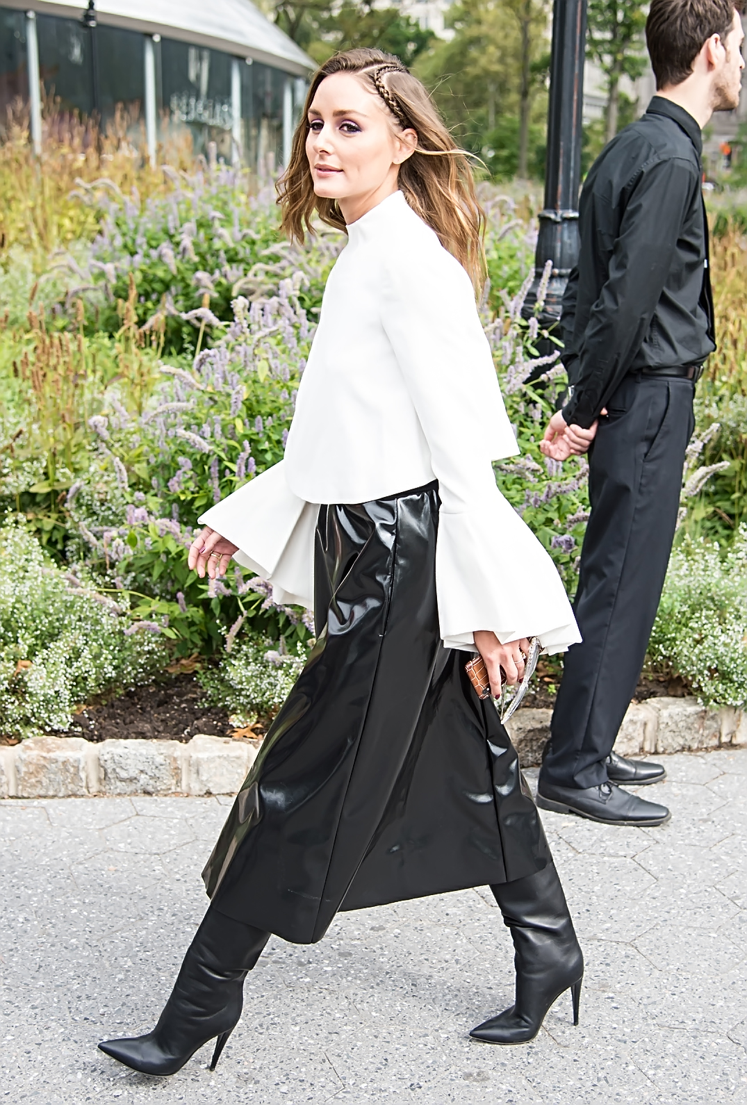 Celebrities arrive at Carolina Herrera fashion show during New York Fashion Week at Battery Park in New York City. 09 Sep 2019, Image: 469948508, License: Rights-managed, Restrictions: World Rights, Model Release: no, Credit line: Profimedia, Mega Agency