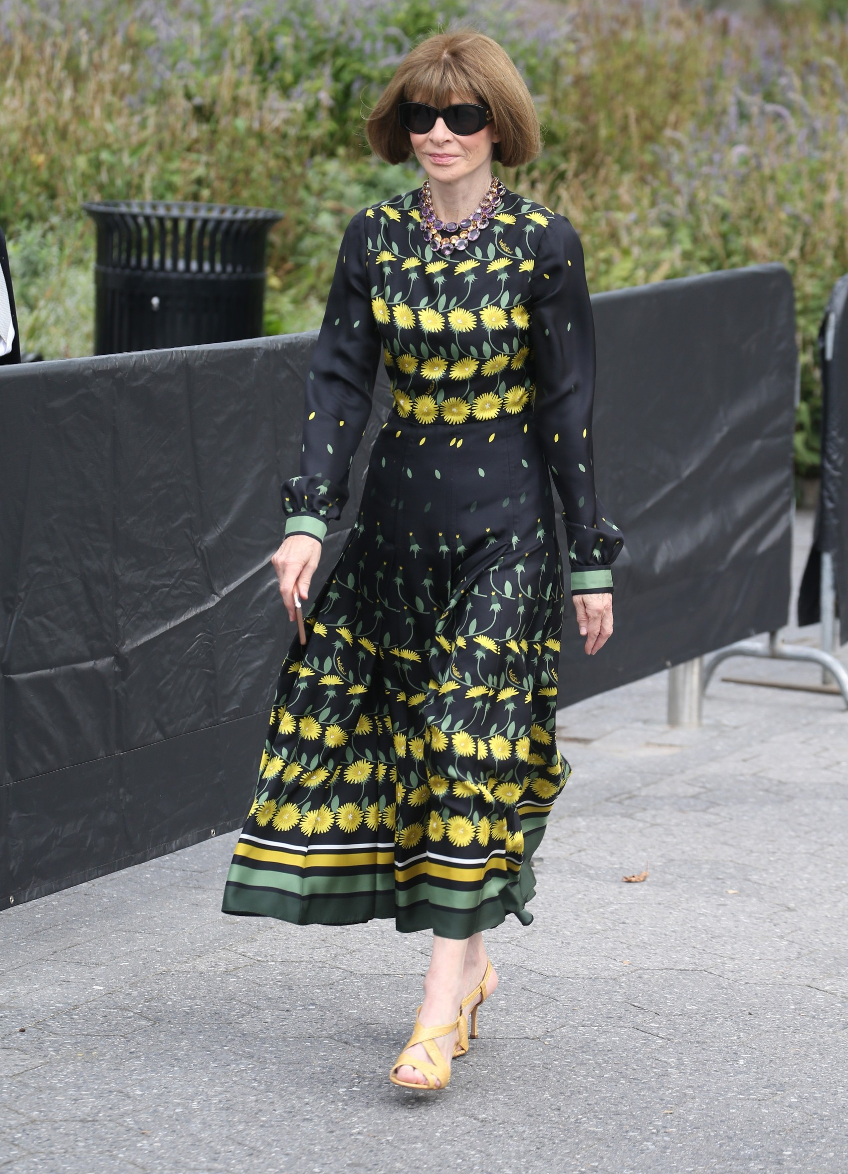 , New York, NY - 20190909 - Celebrities at Carolina Herrera During New York Fashion Week 2019  -PICTURED: Anna Wintour -, Image: 469995769, License: Rights-managed, Restrictions: , Model Release: no, Credit line: Profimedia, INSTAR Images