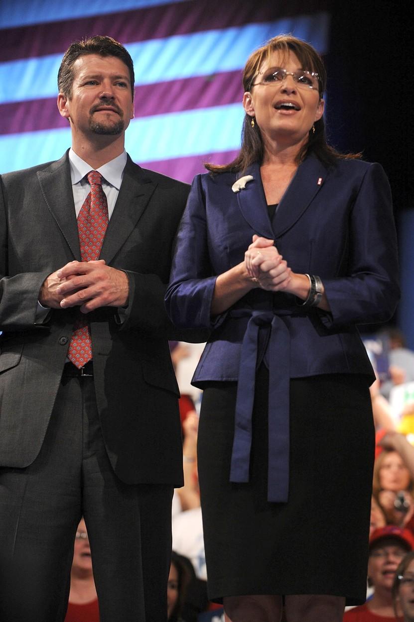 Todd i Sarah Palin