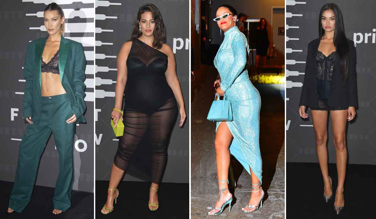 Bella Hadid, Ashley Graham, Rihanna, Shanina Shaik