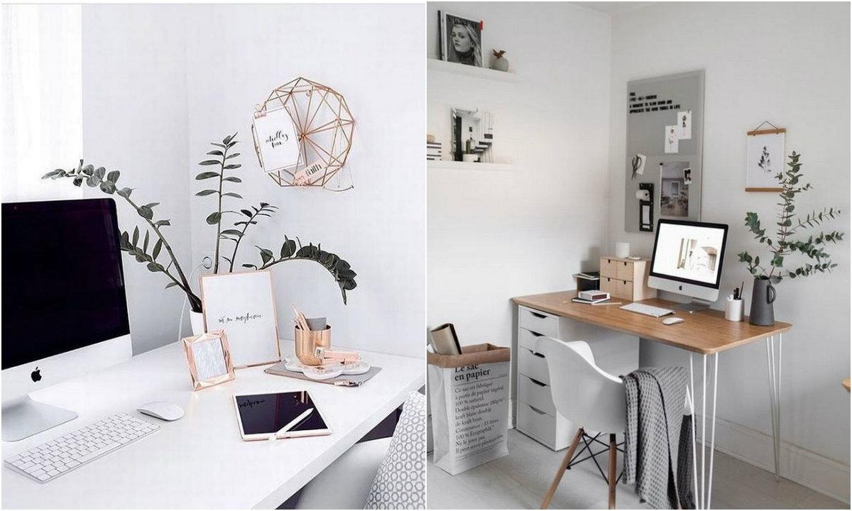 Radni stol collage