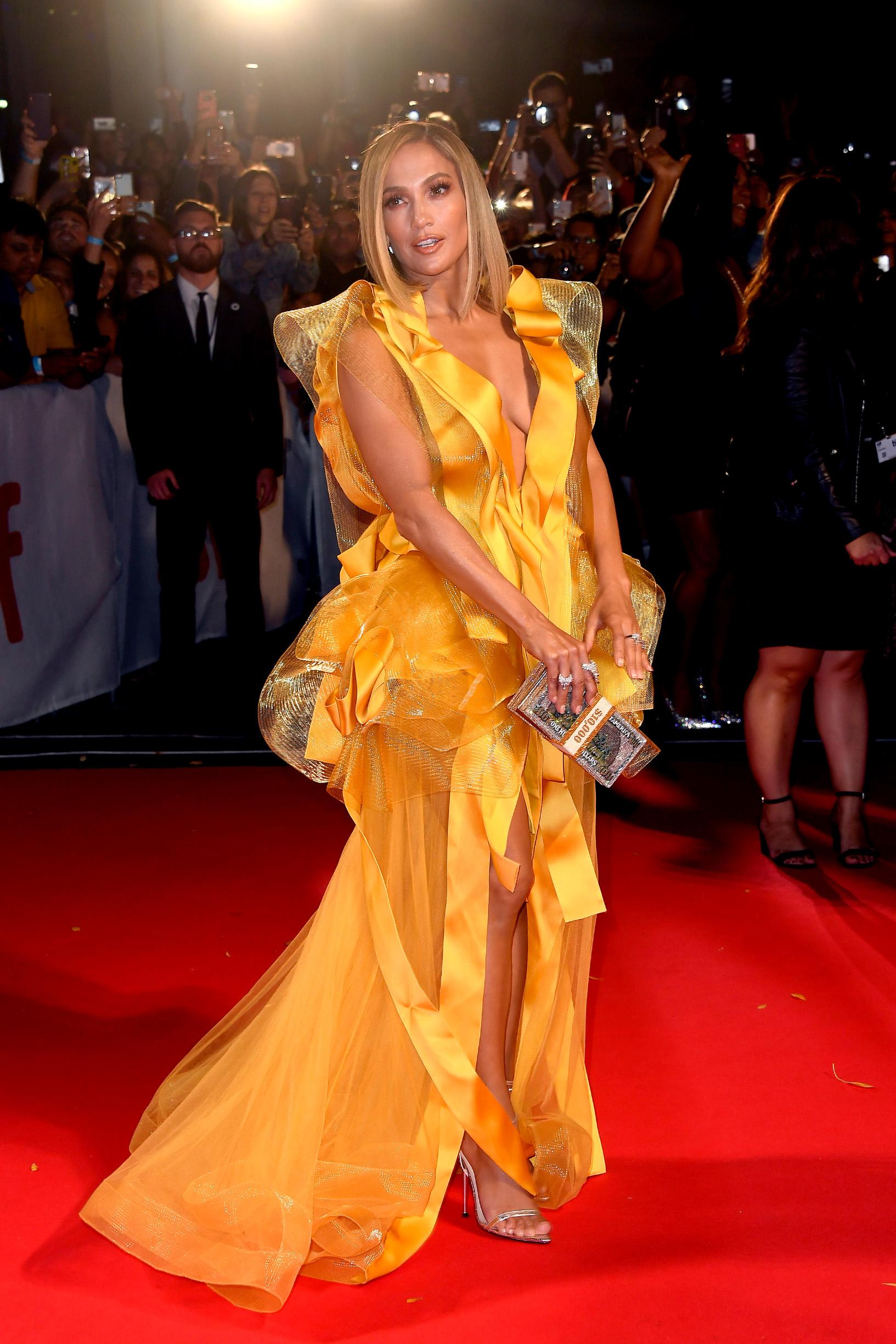 TORONTO, ONTARIO - SEPTEMBER 07:  Jennifer Lopez attends the