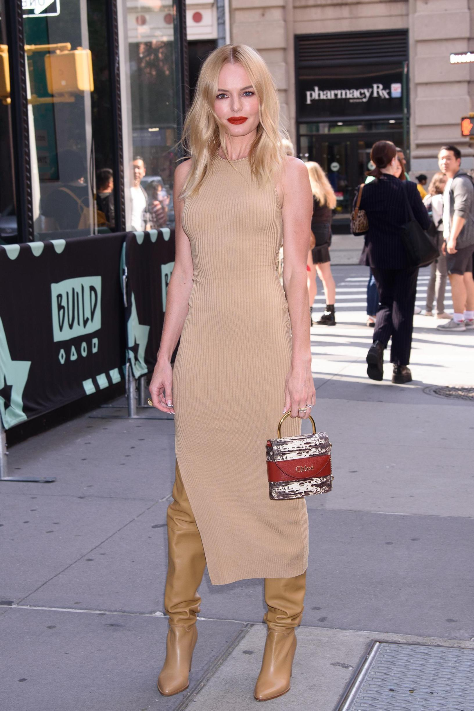 - New York - NY - 20190911 - Celebrity Guests at Build Series Build Studio, NY - Kate Bosworth - Janet Mayer/Startraksphoto.com -   -  This is an editorial, rights-managed image. Please contact  INSTAR Images  for licensing fee and rights information at sales@instarimages.com or call +1 212 414 0207. This image may not be published in any way that is, or might be deemed to be, defamatory, libelous, pornographic, or obscene. Please consult our sales department for any clarification needed prior to publication and use. INSTAR Images reserves the right to pursue unauthorized users of this material. If you are in violation of our intellectual property rights or copyright you may be liable for damages, loss of income, any profits you derive from the unauthorized use of this material and, where appropriate, the cost of collection and/or any statutory damages awarded, Image: 470409811, License: Rights-managed, Restrictions: , Model Release: no, Credit line: Profimedia, INSTAR Images
