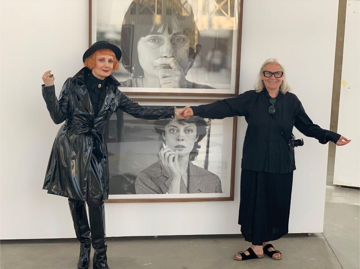 Josipa Lisac i Brigitte Lacombe