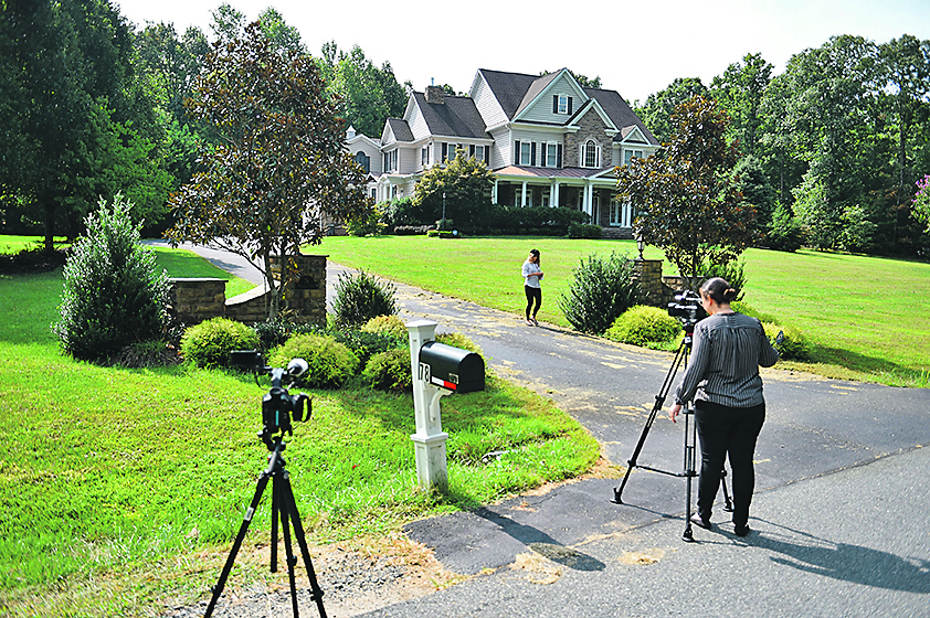 Photo shot September 10, 2019 shows the house in Stafford, Virginia, of alleged spy, Oleg Smolenkov. American media reported that US agents extracted in 2017 a high-level mole in the Russian government who had confirmed Vladimir Putin's direct role in interfering in the 2016 presidential election. On Tuesday, Russian media named the alleged spy reporting that he had worked at the Russian embassy in Washington before moving to Moscow., Image: 470159224, License: Rights-managed, Restrictions: , Model Release: no, Credit line: Profimedia, AFP