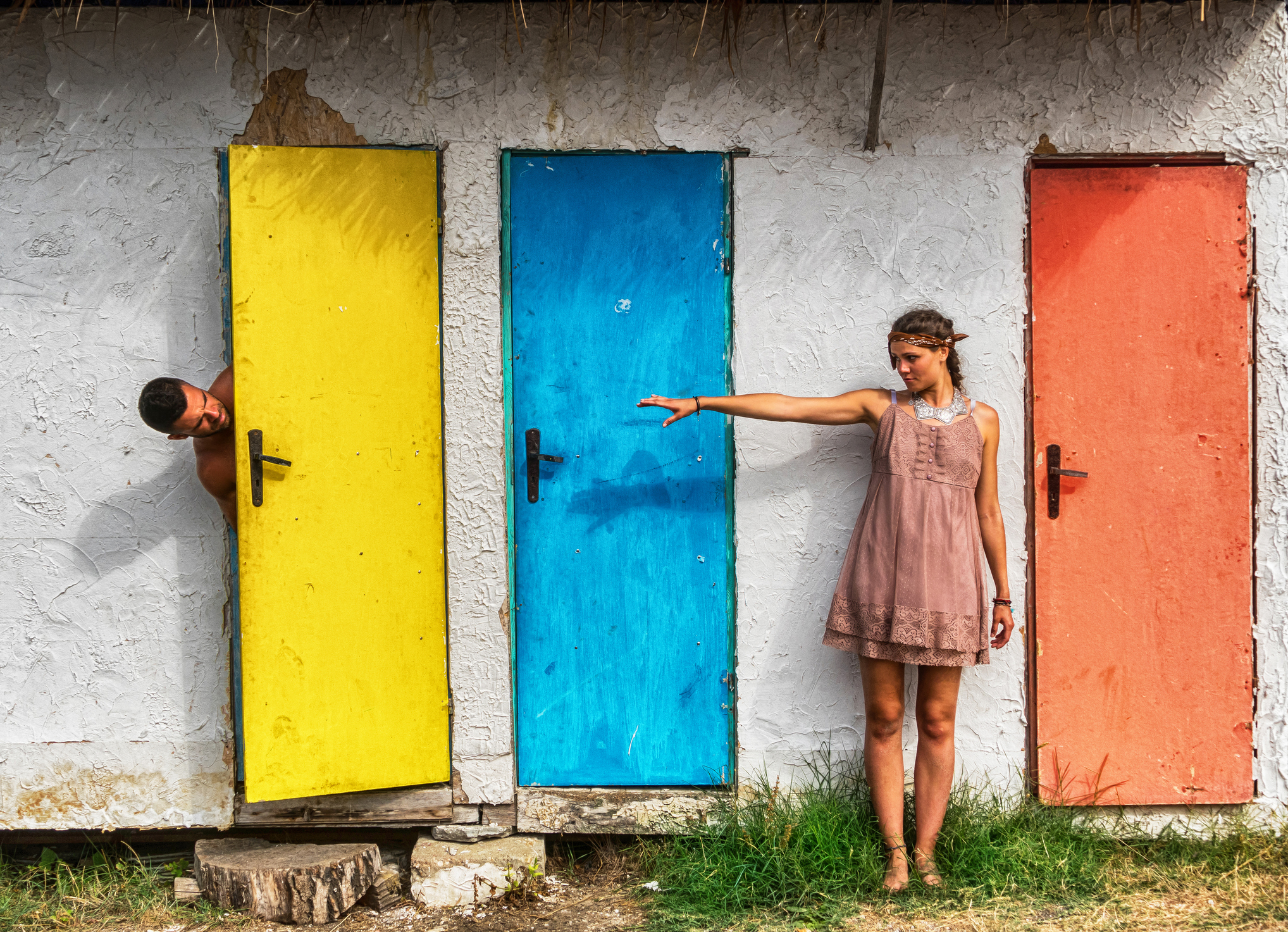 Svi naši zidovi bi trebali imati i vrata, koja po želji možemo zatvoriti, ali isto tako i širom otvoriti.