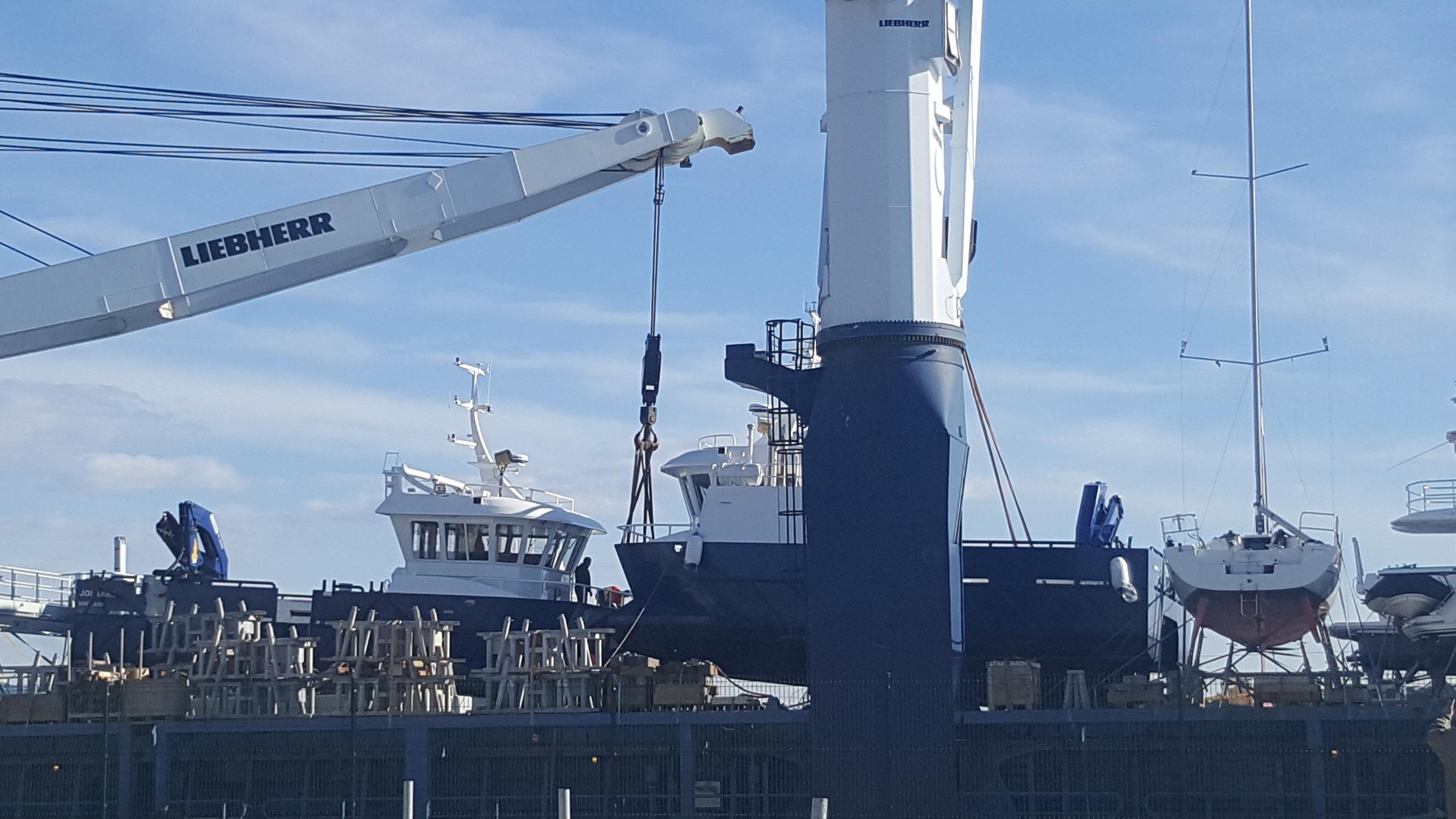 Brodovi šibenske tvrtke CroNoMar