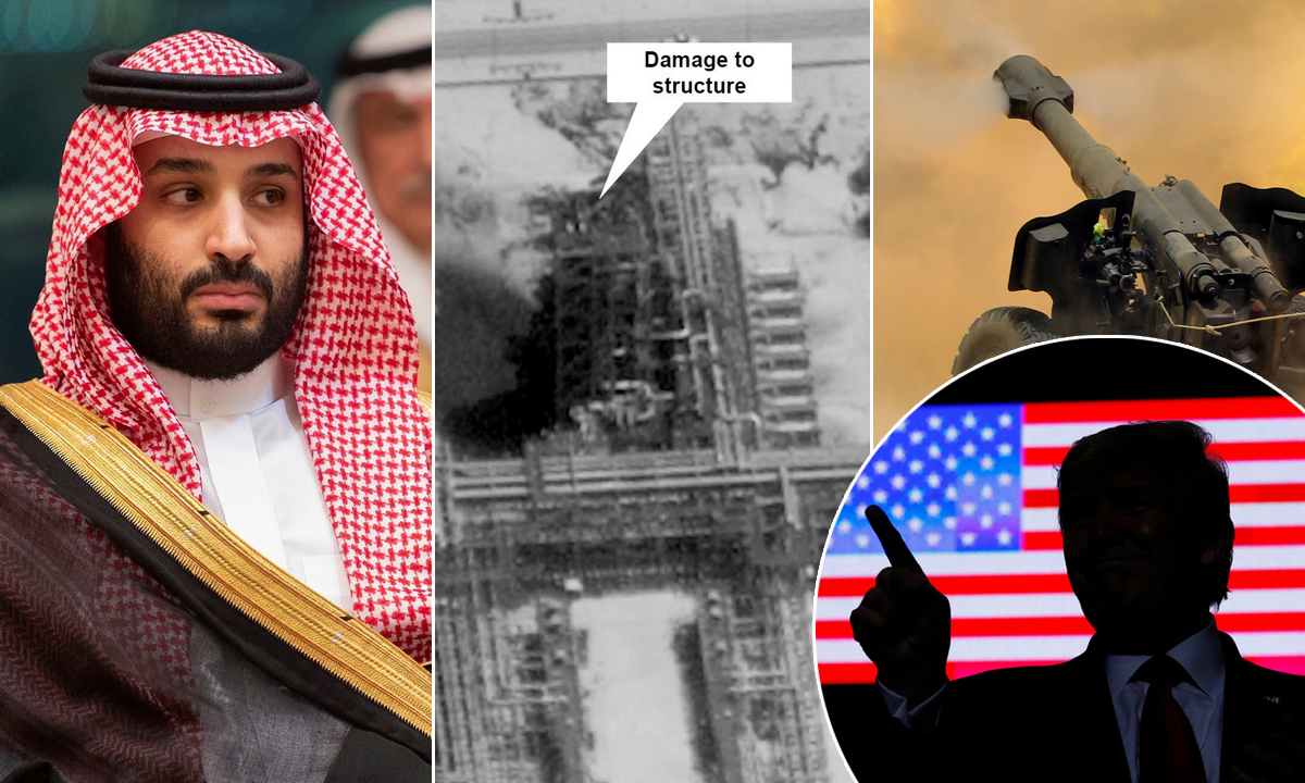 Mohamed bin Salman, napad na naftna postrojenja, iranska vojska, Donald Trump