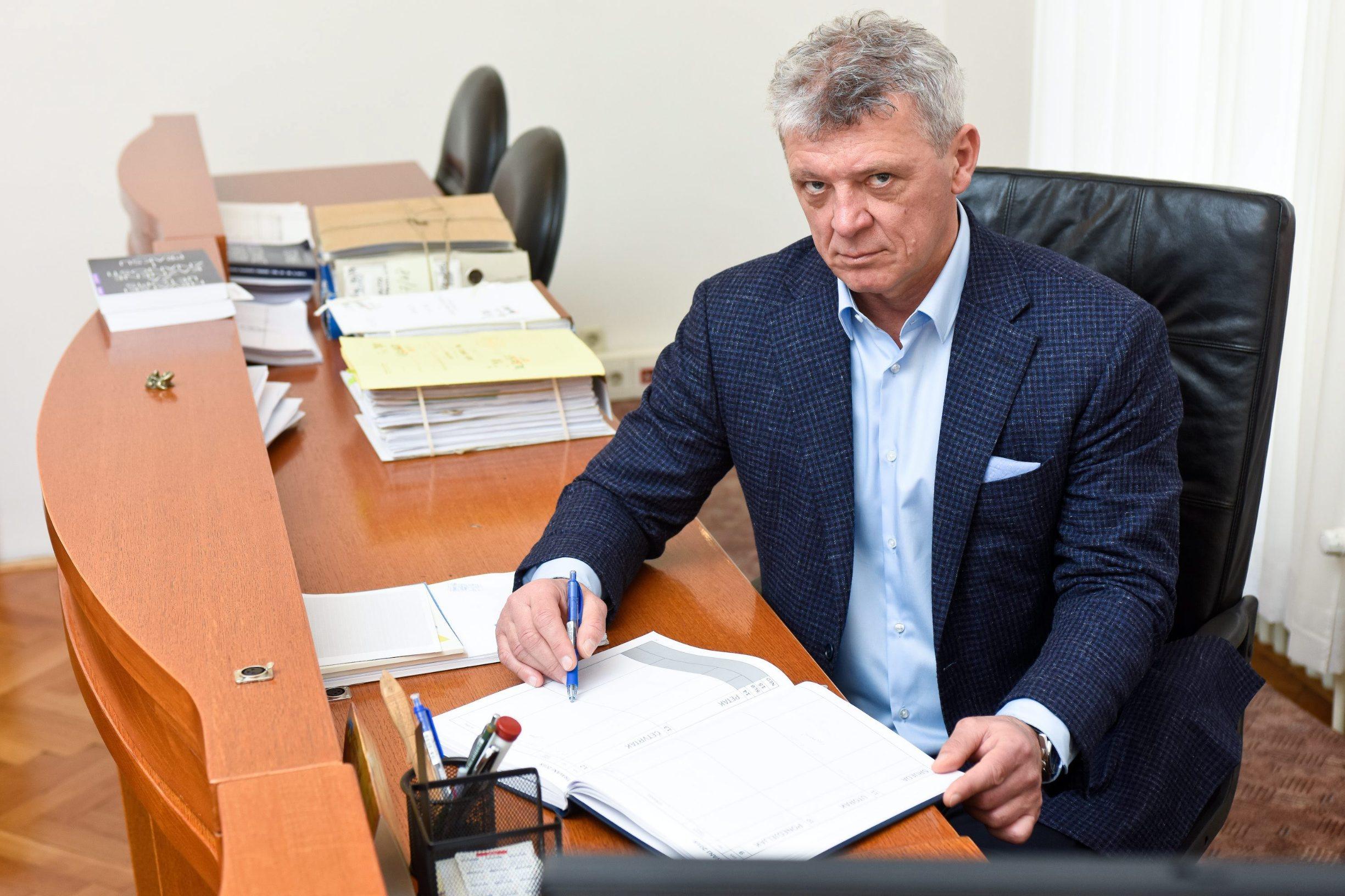 Zagreb, 020318. Zrinjevac. Ivan Turudic, predsjednik Zupanijskog suda Foto: Darko Tomas / CROPIX