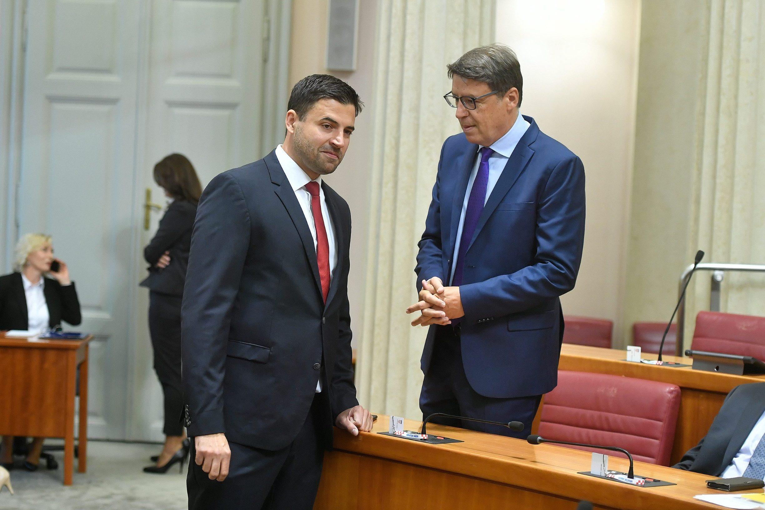 Davor Bernardić i Željko Jovanović