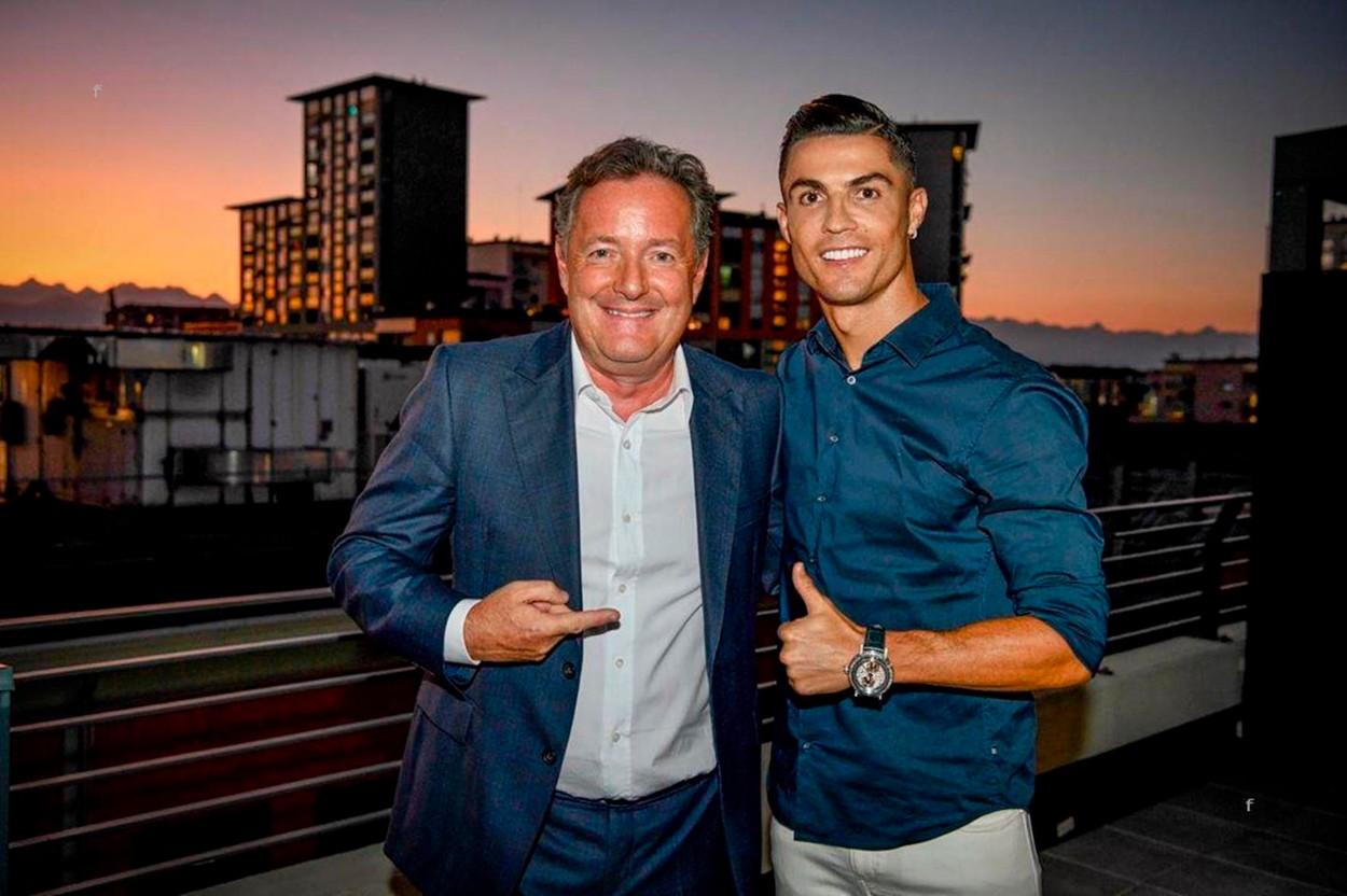 Piers Morgan i Cristiano Ronaldo