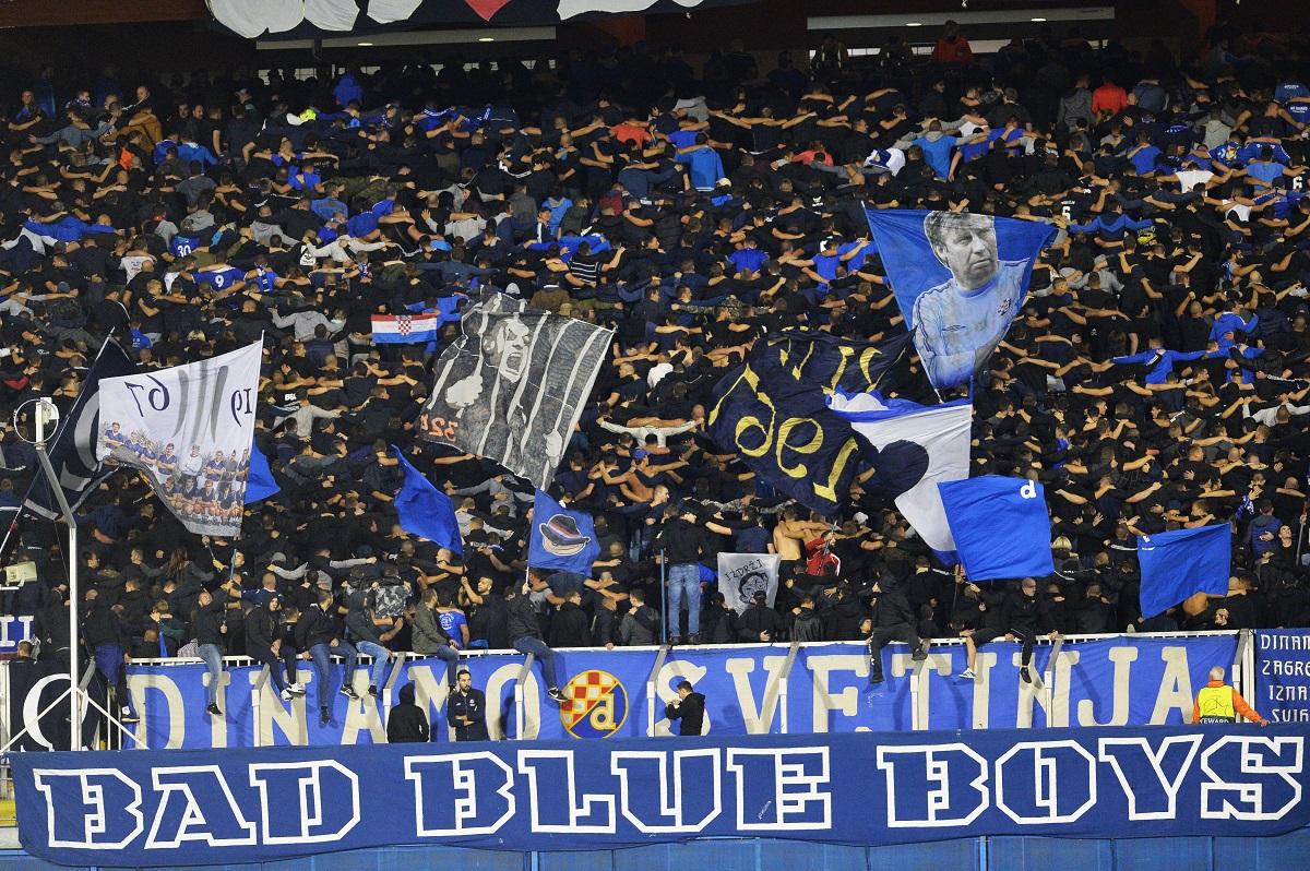 Zagreb, 180919. Stadion Maksimir. UEFA Liga prvaka  2019/2020, utakmica GNK Dinamo Zagreb - Atalanta BC. Na fotografiji: BBB. Foto: Damir Krajac / CROPIX
