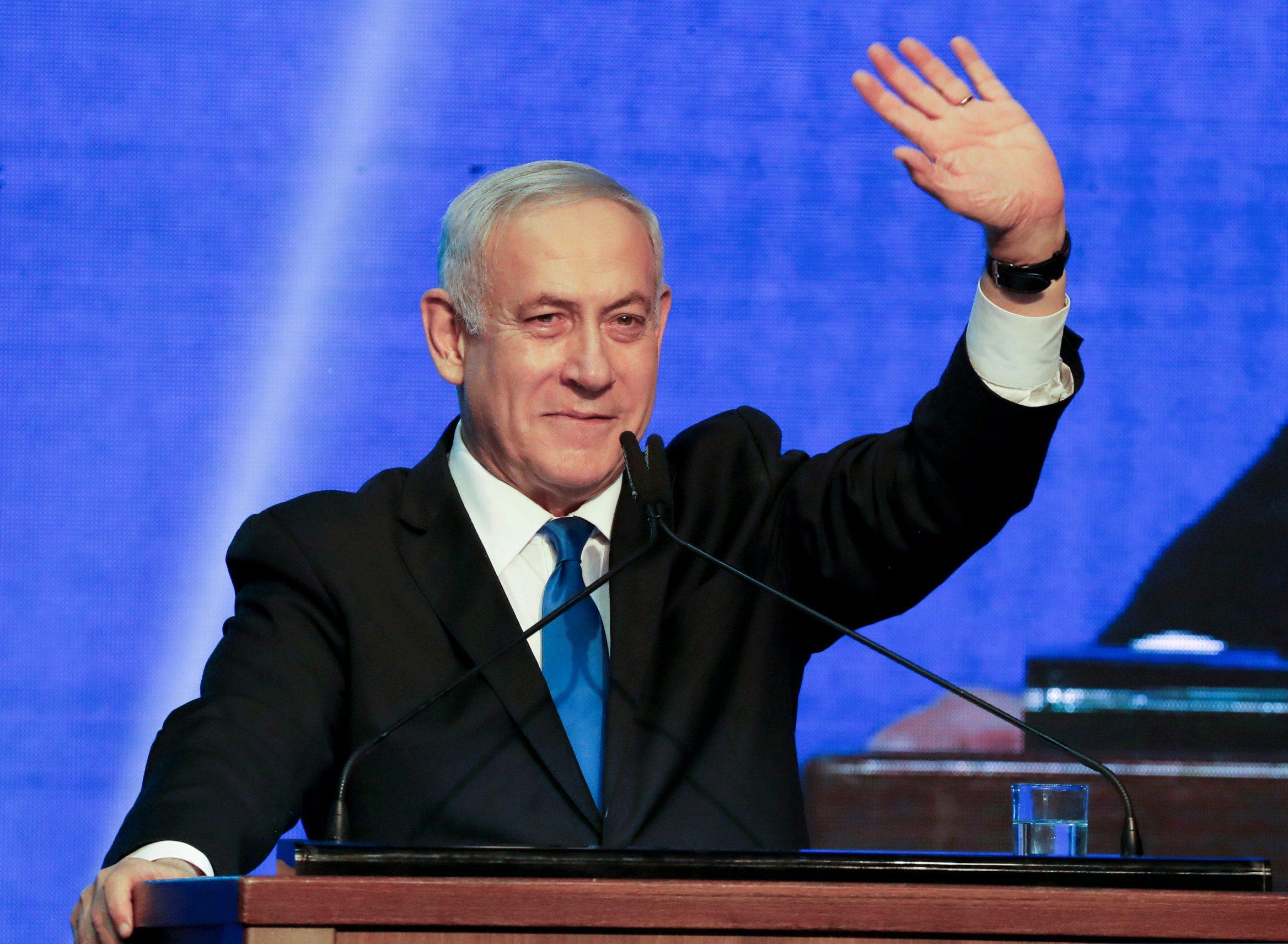 2019-09-18T000000Z_637432482_RC1F05835A30_RTRMADP_3_ISRAEL-ELECTION-LIKUD-HEADQUARTERS