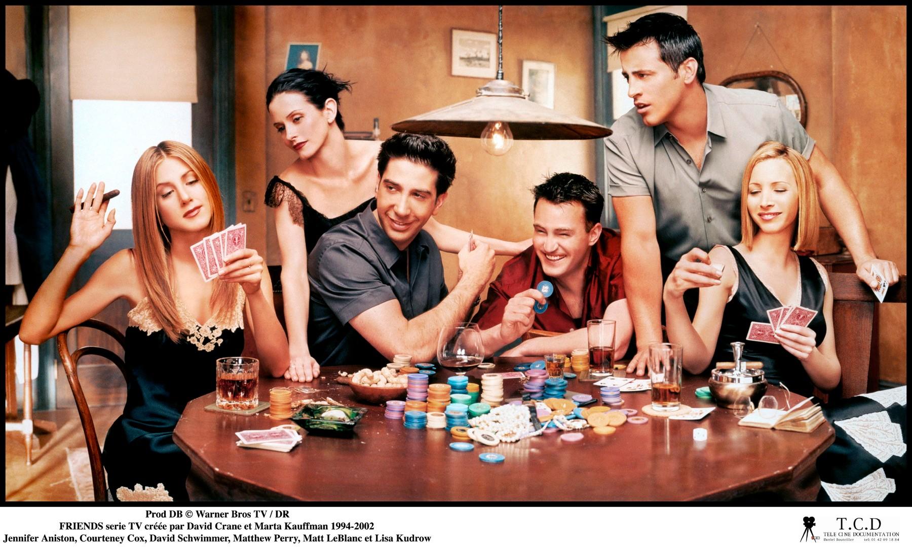 glumačka ekipa iz TV serije 'Prijatelji'