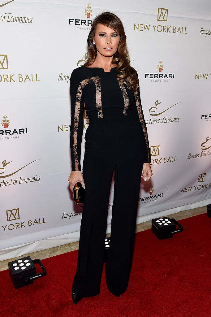 NEW YORK, NY - NOVEMBER 19:  Melania Trump attends The New York Ball: The 20th Anniversary Benefit For The European School Of Economics at Trump Tower on November 19, 2014 in New York City.  (Photo by Jamie McCarthy/Getty Images)