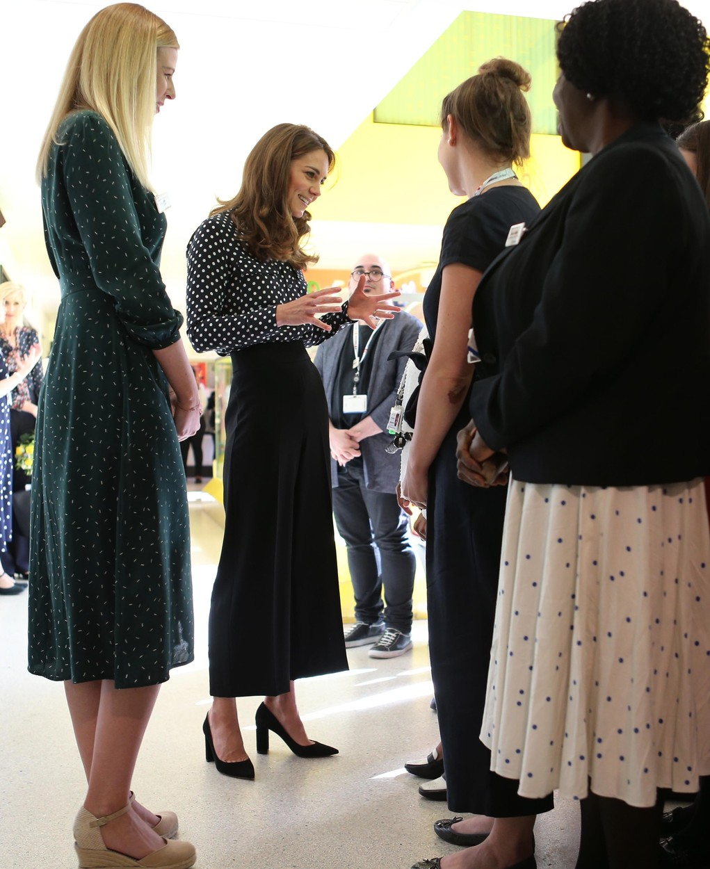 The Duchess of Cambridge meets the Southwark Family Nurse Partnership team during a visit to Sunshine House Children and Young People's Health and Development Centre in Camberwell, south London., Image: 471784226, License: Rights-managed, Restrictions: , Model Release: no, Credit line: Profimedia, Press Association