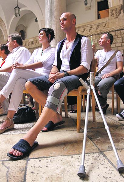 Dubrovnik, 260811. Danas su u Knezevom dvoru dodijeljene nagrade