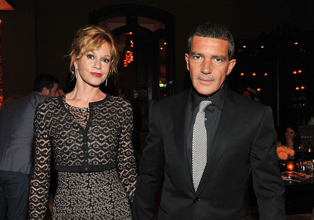TORONTO, ON - SEPTEMBER 11:  Actress Melanie Griffith (L) and actor Antonio Banderas arrive at Sony Pictures Classics 20th Anniversary Party at the 2011 Toronto International Film Festival on September 11, 2011 in Toronto, Canada.  (Photo by Sonia Recchia/Getty Images for Sony Pictures Classics)