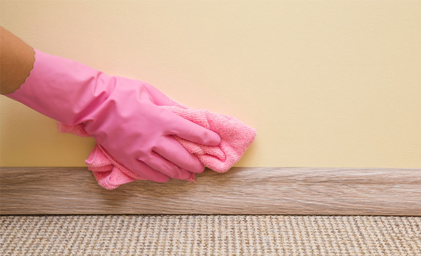 Fall-Home-Cleaning-How-To-Clean-Walls-Scrubbing-with-a-Sponge