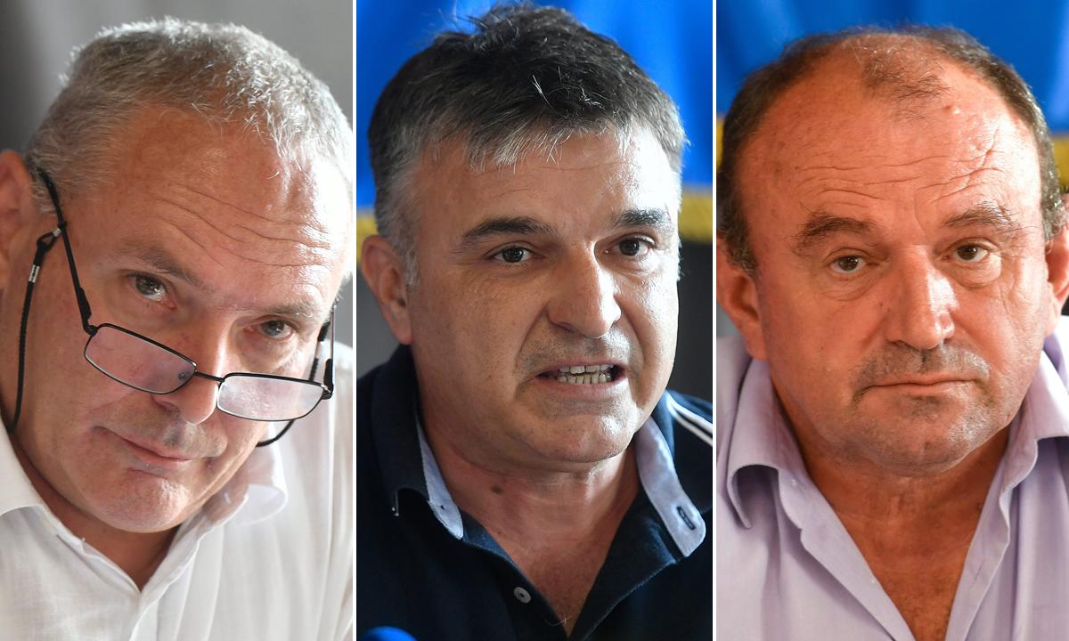 Kresimir Maretić, Zoran Maras i Siniša Mastelić