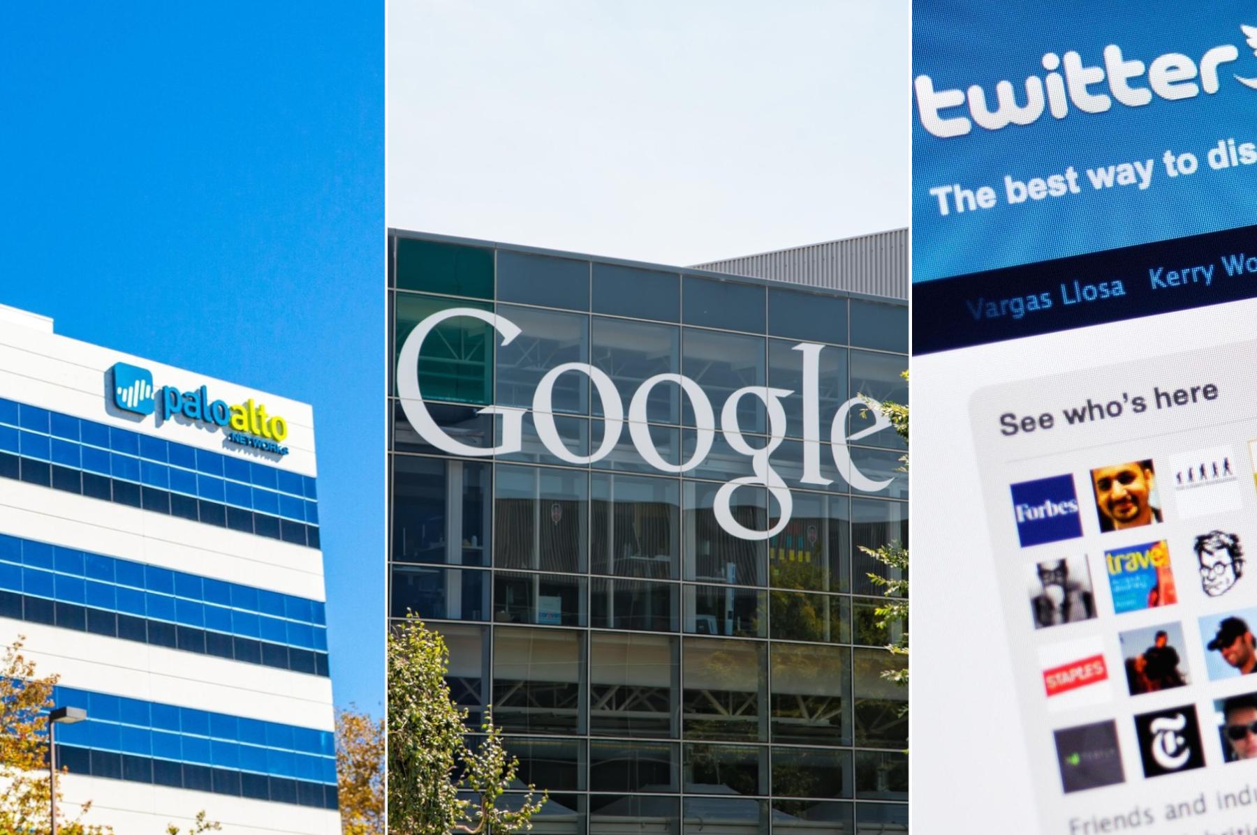 Palo Alto Networks/ Google /Twitter