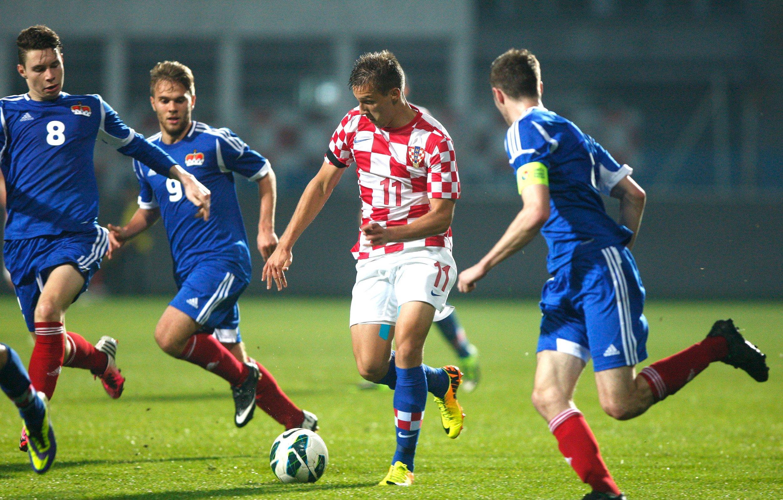 Mislav Oršić prije šest godina u dresu mlade hrvatske reprezentacije