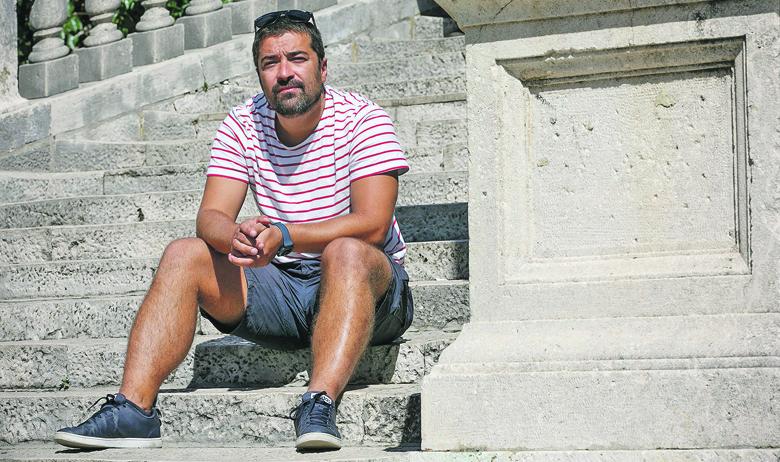 Split, 200919. Otkrivanje spomenika fra Bernardinu Sokolu na Badiji izazvalo je prijepore u Korculi. Na fotografiji: Dragan Markovina Foto: Jakov Prkic / CROPIX