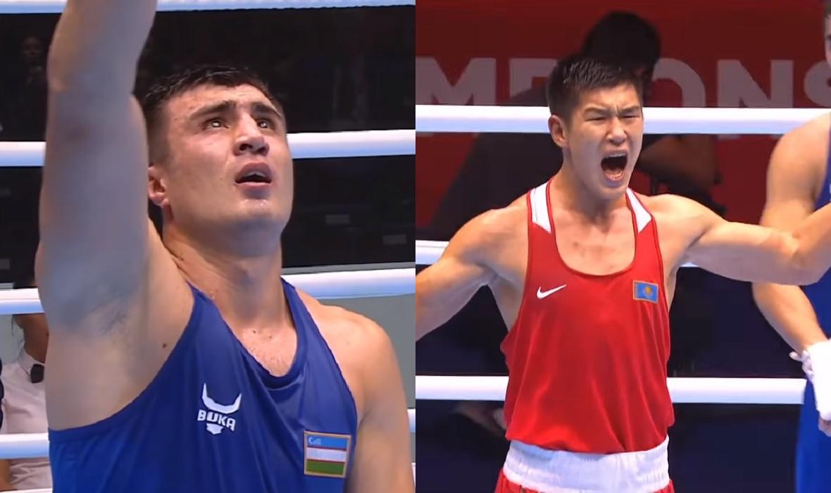Bakhodir Jalolov i Bekzad Nurdauletov