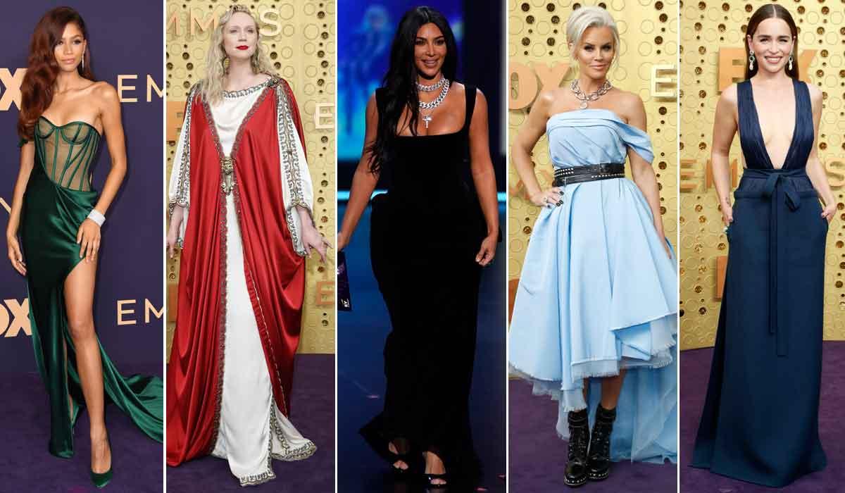 Zendaya, Gwendoline Christie, Kim Kardashian West, Jenny McCarthy, Emilia Clarke