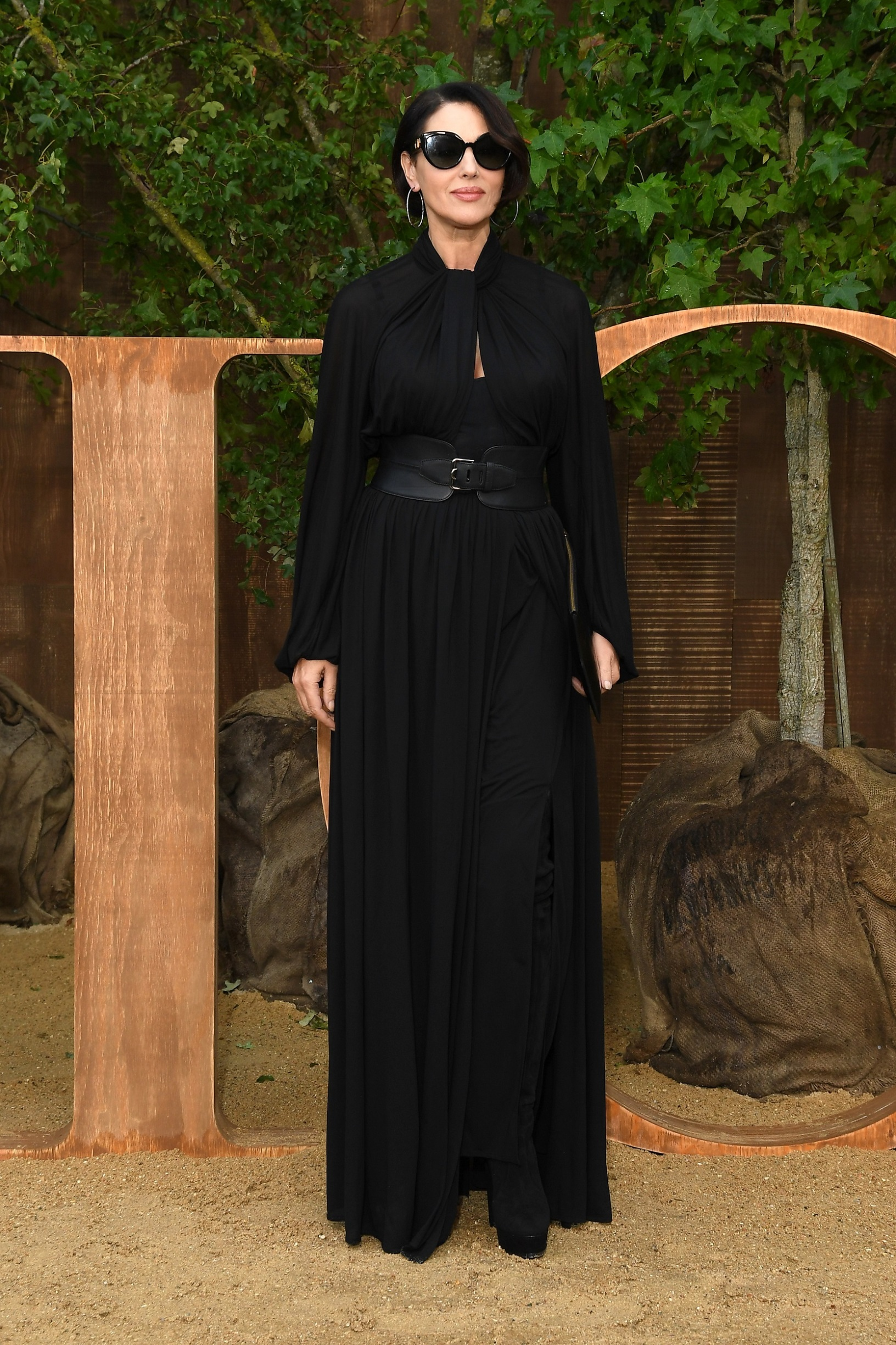 PARIS, FRANCE - SEPTEMBER 24: Monica Bellucci attends the Christian Dior Womenswear Spring/Summer 2020 show as part of Paris Fashion Week on September 24, 2019 in Paris, France. (Photo by Pascal Le Segretain/Getty Images)