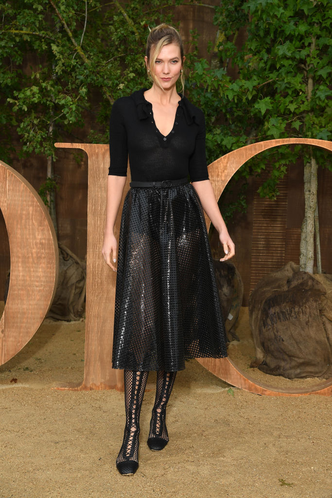 PARIS, FRANCE - SEPTEMBER 24: Karlie Kloss attends the Christian Dior Womenswear Spring/Summer 2020 show as part of Paris Fashion Week on September 24, 2019 in Paris, France. (Photo by Pascal Le Segretain/Getty Images)