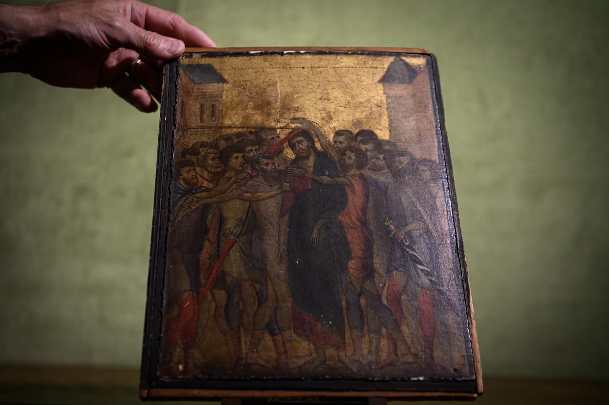 'Ruganje Kristu' čuvenog majstora Cenni di Pepa, poznatog i kao Cimabue