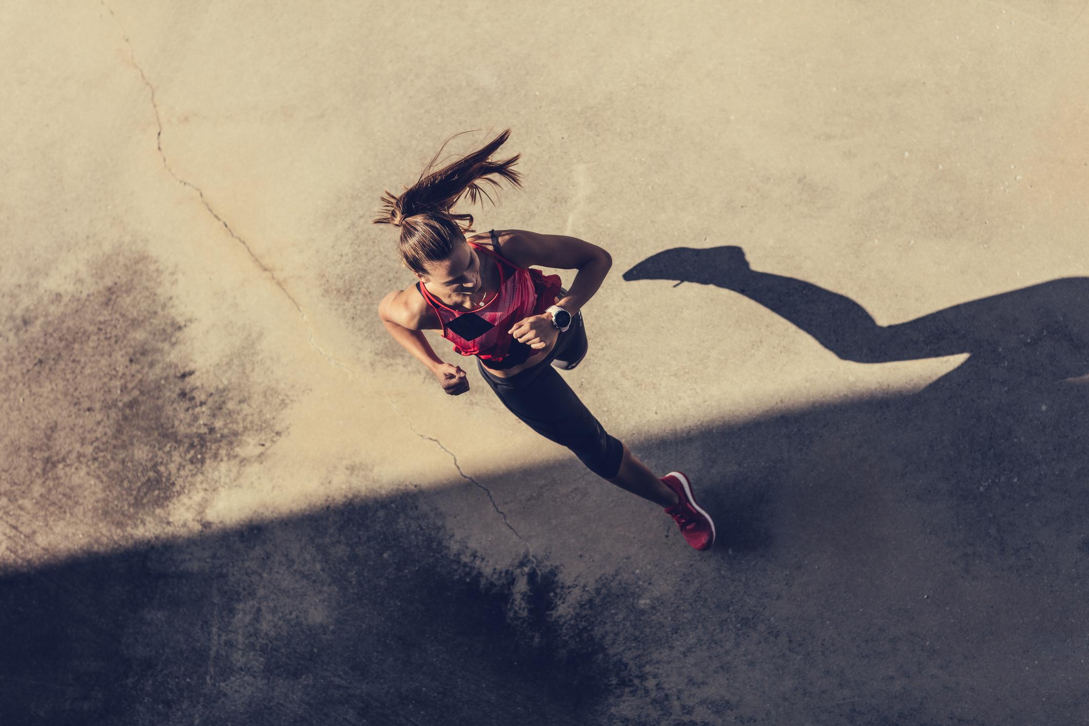 Istraživanje je pokazalo da oni koji redovito trče imaju bolji indeks tjelesne mase, niži postotak masti u tijelu i manji opseg bokova.
