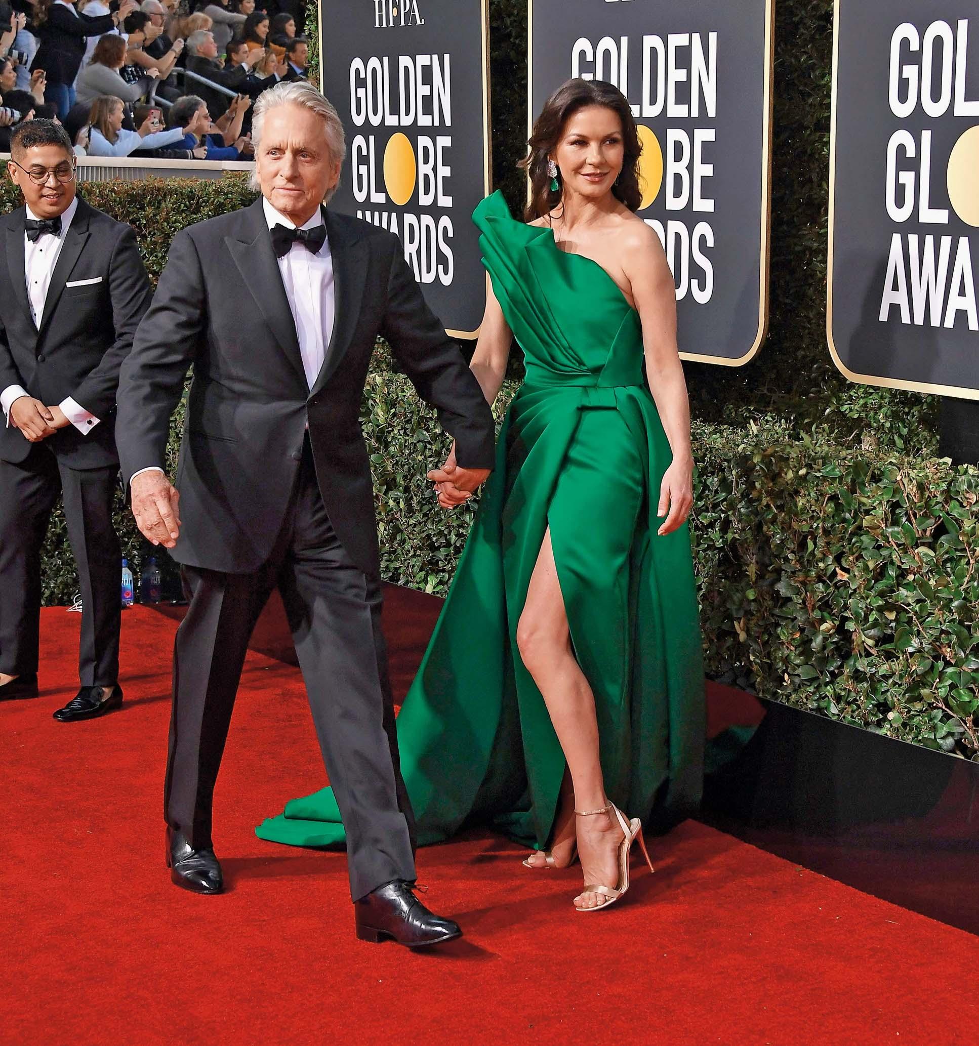 Bračni par Douglas na dodjeli Zlatnih globusa u siječnju 2019.