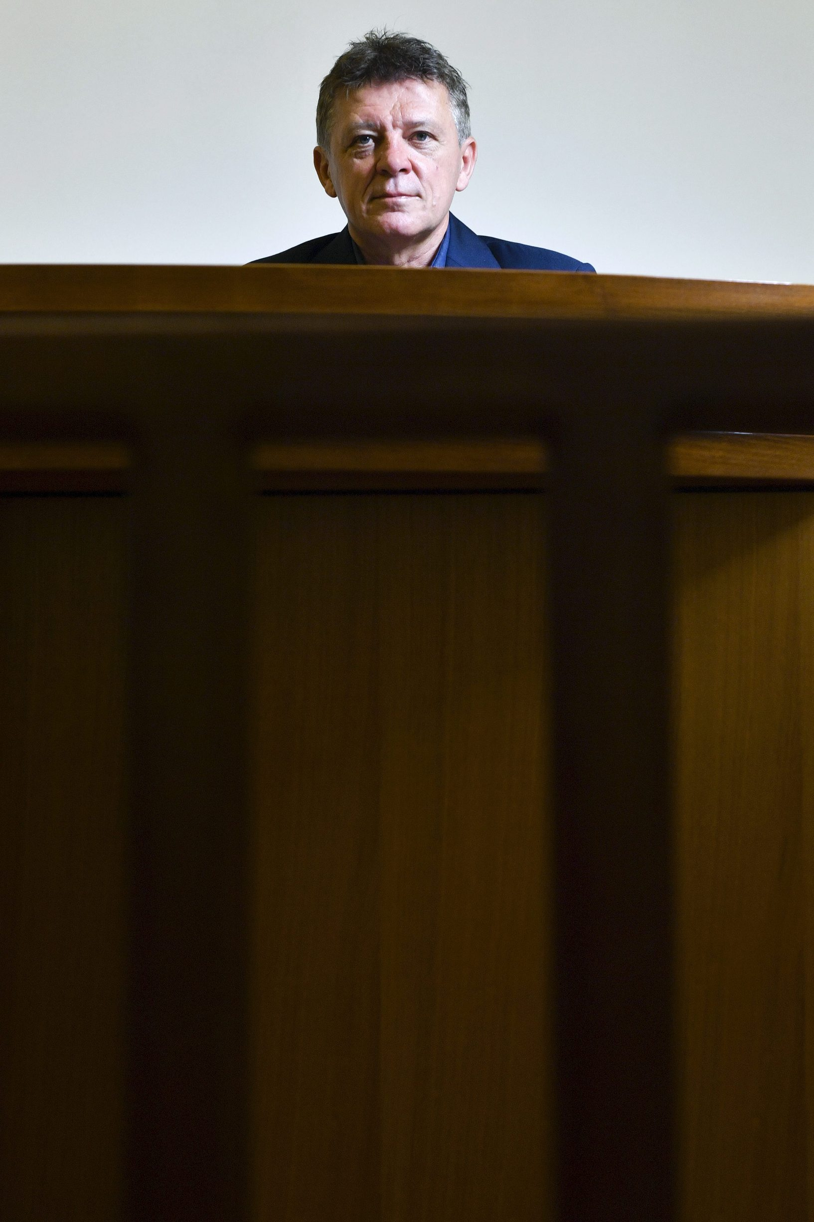 Zagreb, 050419. Sudac Ivan Turudic, fotografiran na Zupanijskom sudu. Foto: Boris Kovacev / CROPIX