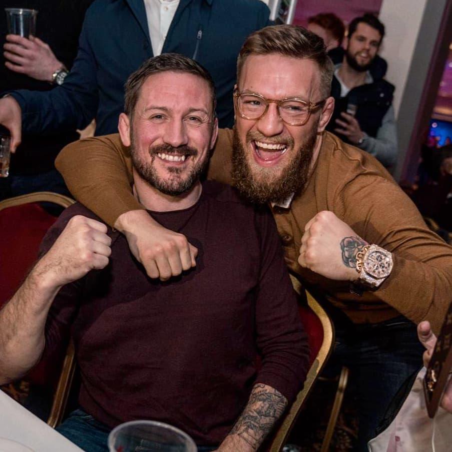 John Kavanagh i Conor McGregor