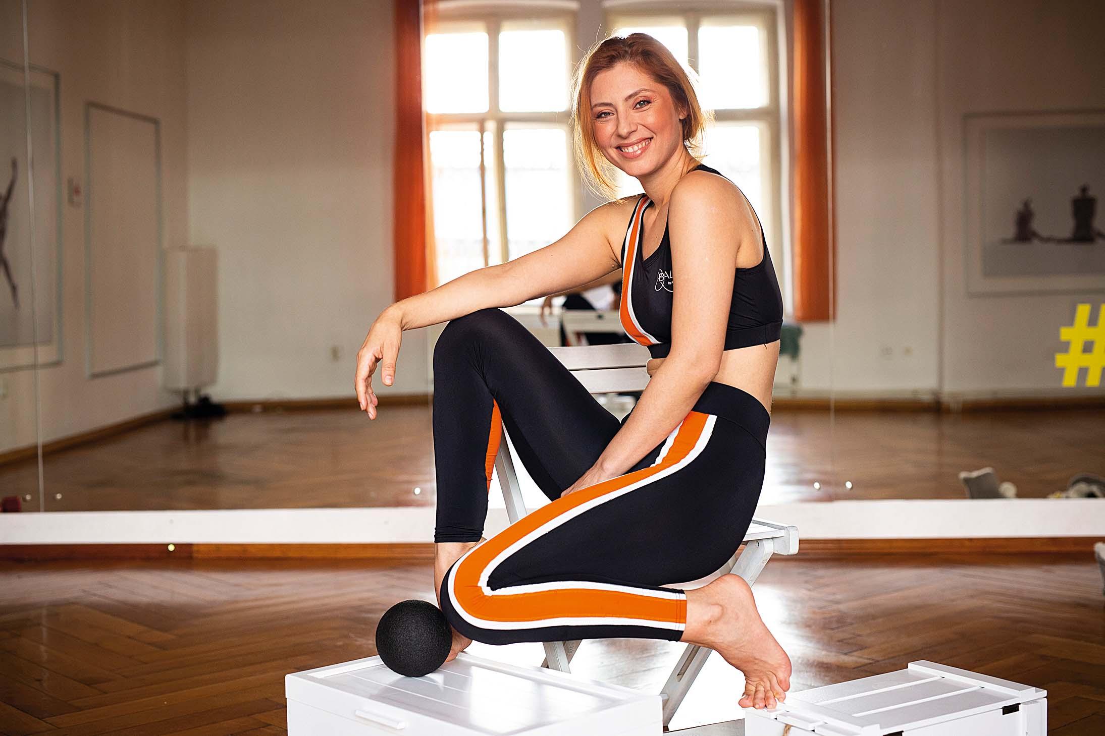 Otkako plešem balet, poboljšalo mi se  držanje, a mišići supoprimili ljepši, vretenastiji oblik, kaže Judita Franković
