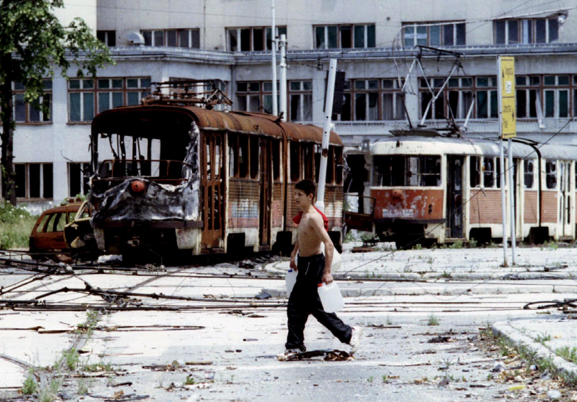 Sarajevo tijekom 1993., Skenderija