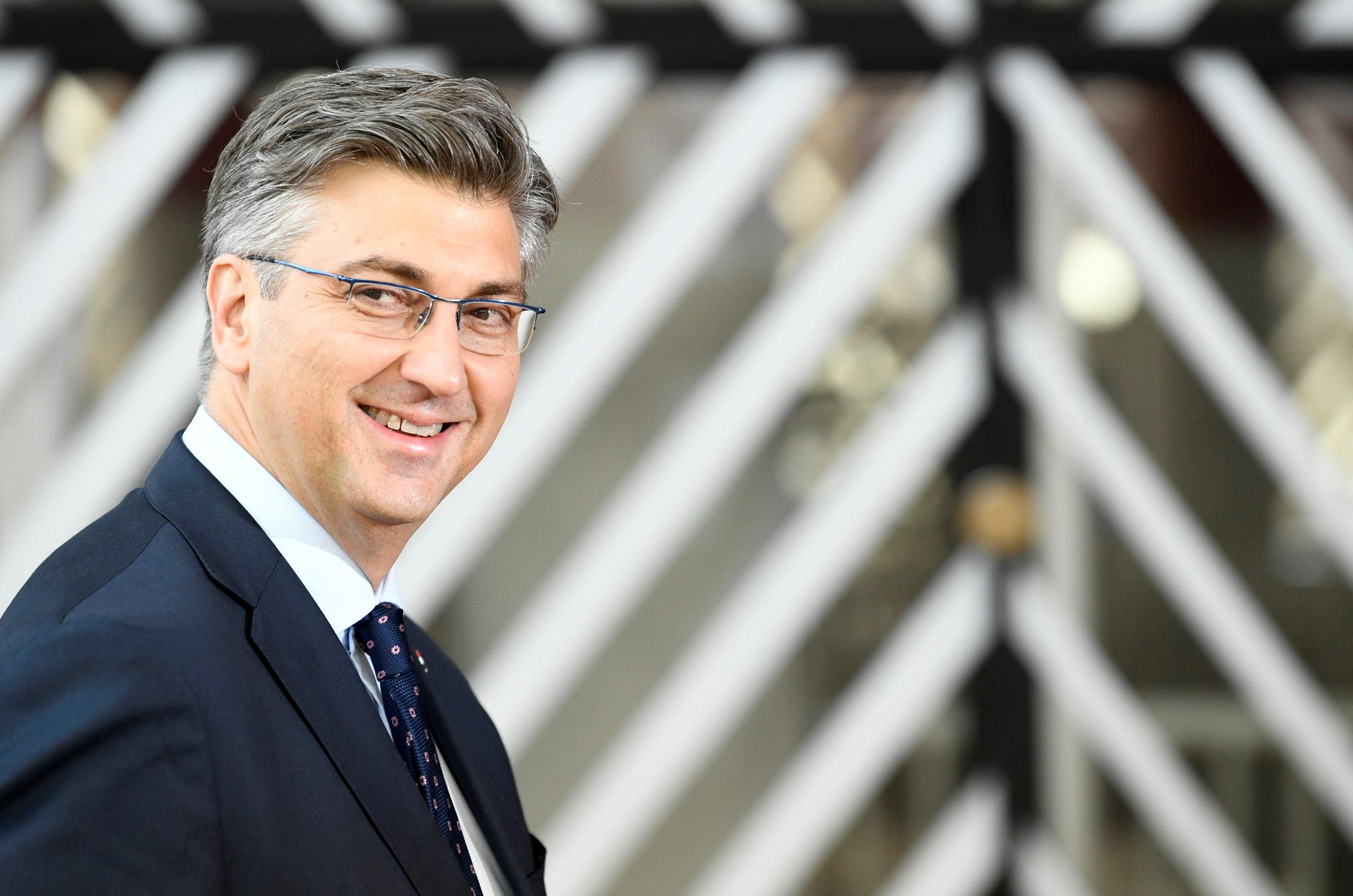 Plenković u Bruxellesu