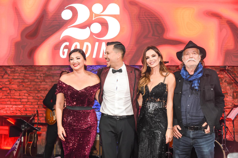 Nina Badrić, Marko Tolja, Severina i Rade Šerbedžija