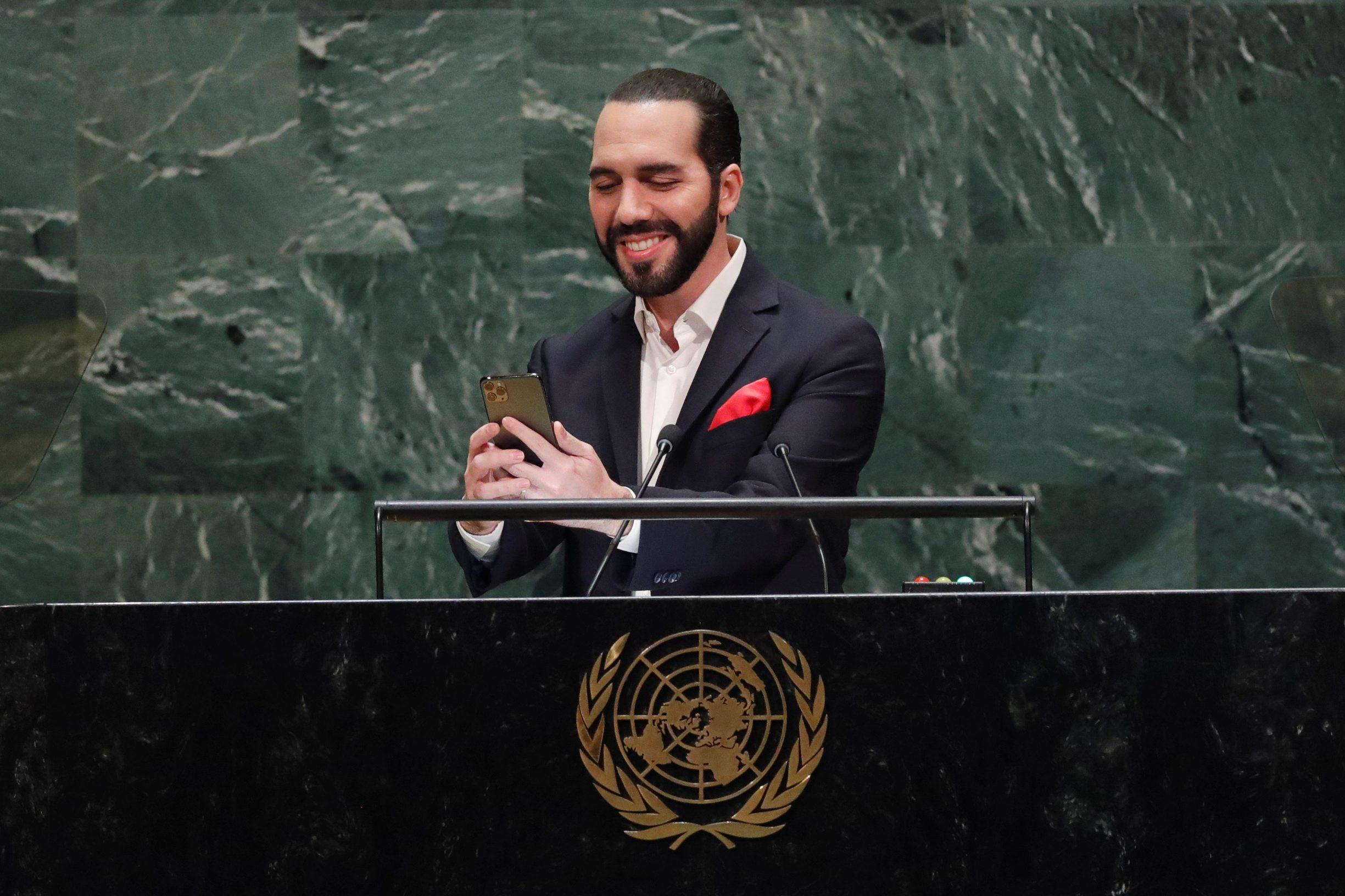 Predsjednik El Salvadora Nayib Bukele