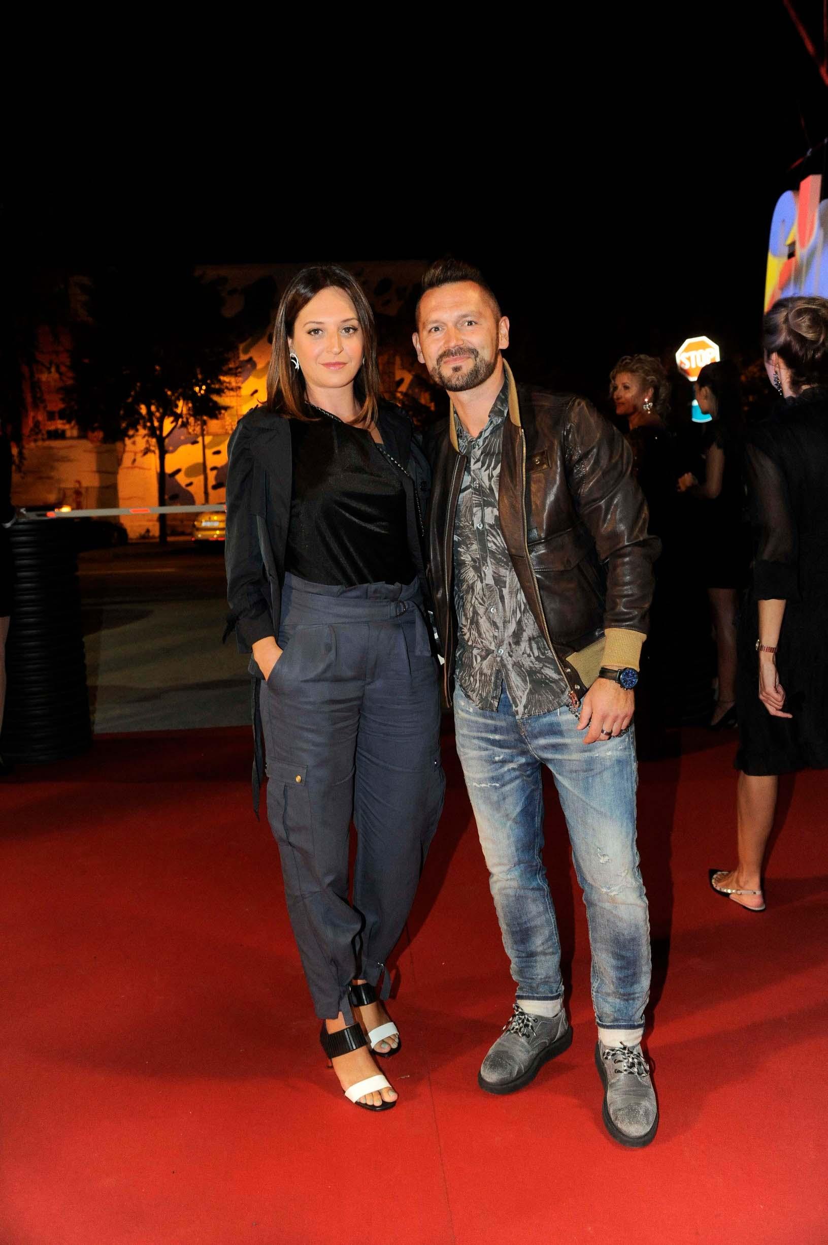 Ivan Dečak sa suprugom Ninom
