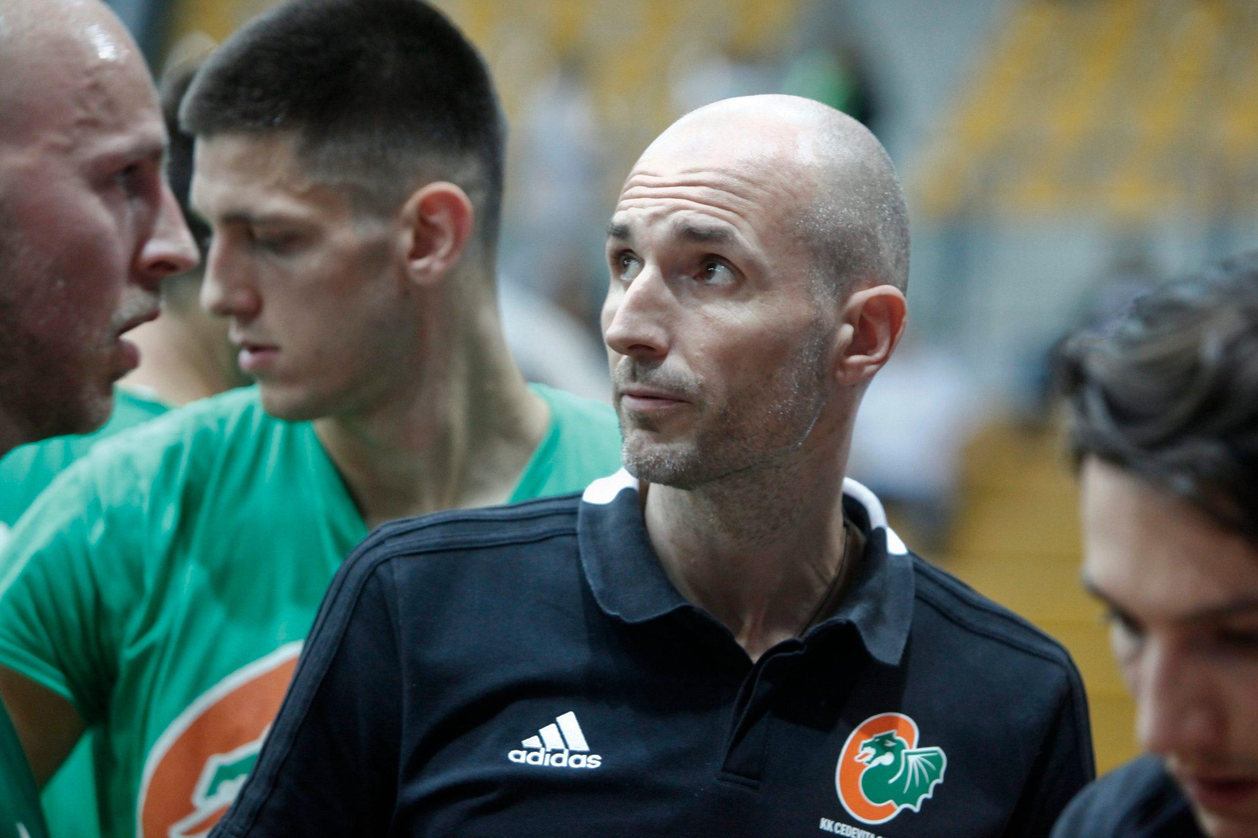 Trener Cedevita Olimpije Slaven Rimac
