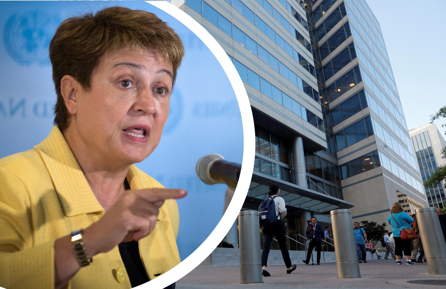 Kristalina Georgieva, kandidatkinja za čelo MMF-a