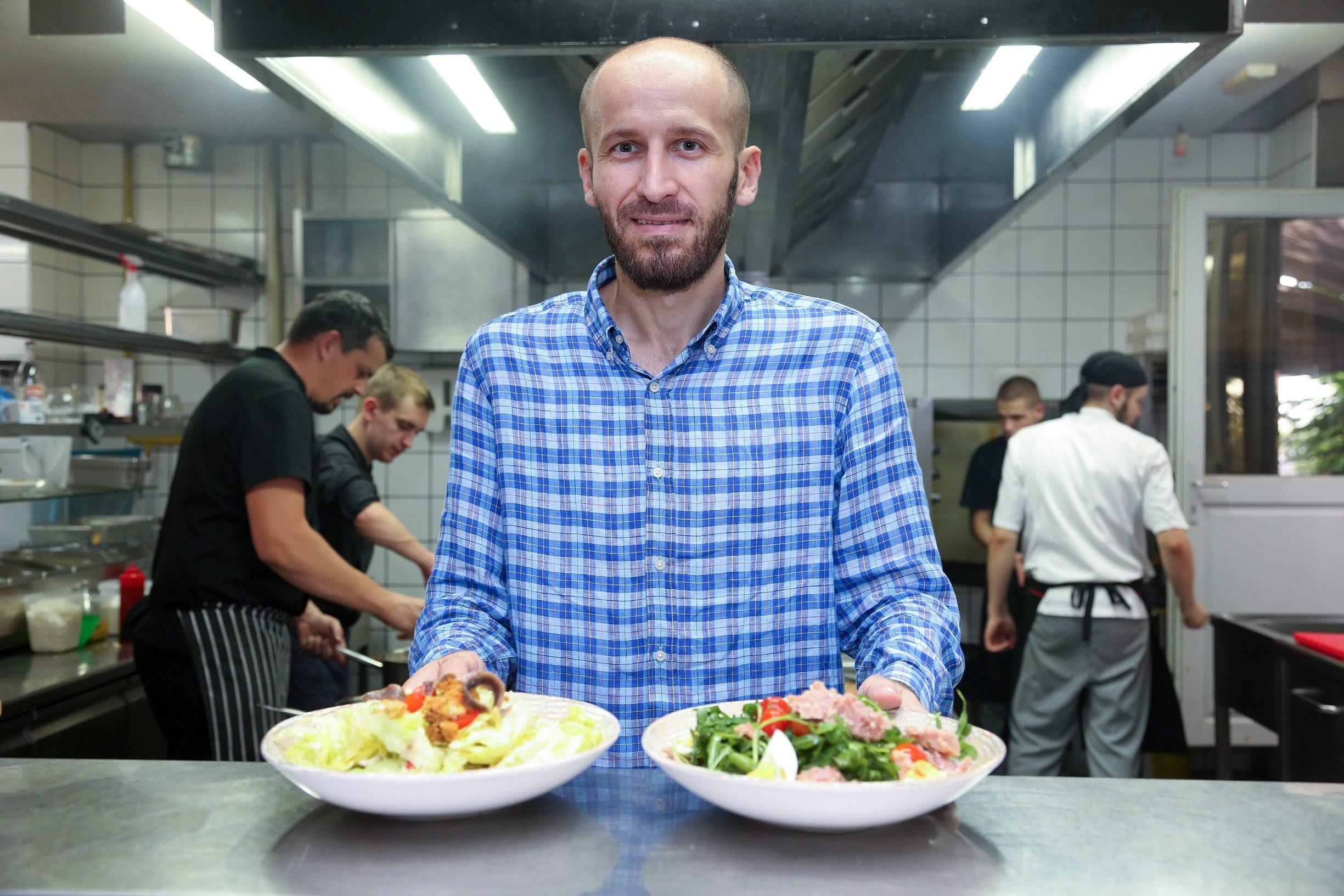 Marin Medak, ugostitelj i vlasnik restorana RougeMarine
